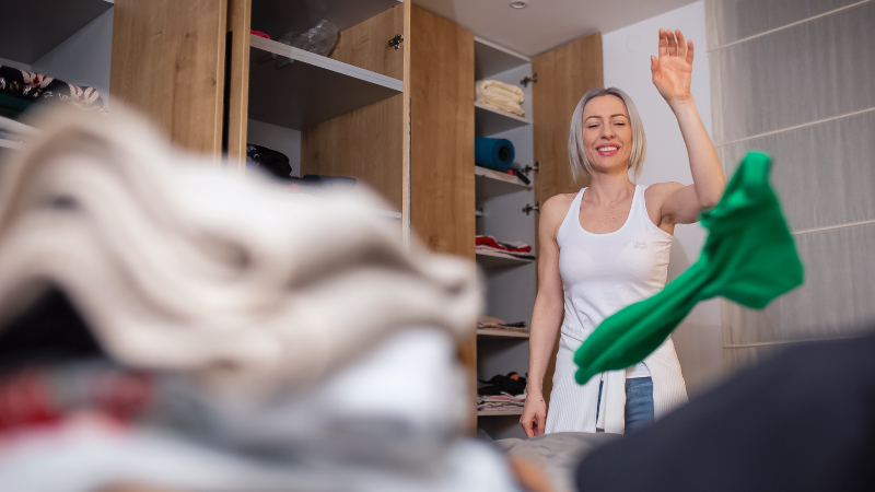 organizing your closets and pantry are great home improvement projects to tackle in the summer