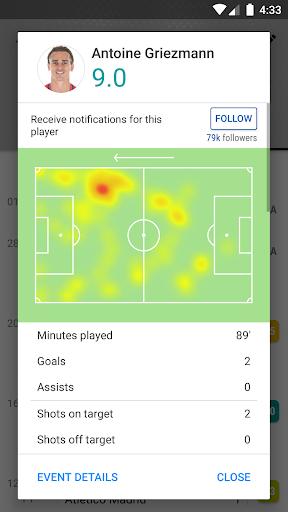 SofaScore: Soccer Scores, Stats & Live Sports App 5.82.9 Screenshots 4