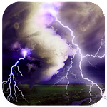 Thunder Storm Lightning Live Wallpaper