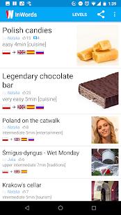 InWords PL - learn Polish - náhled