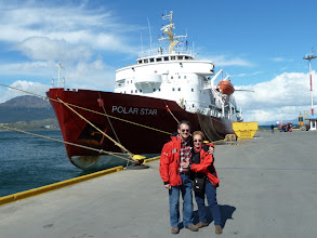 Photo: What a wonderful ship for this great trip!