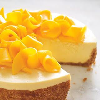 Mango Yogurt Mousse Cake.