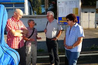 Photo: Am Busbahnhof bei der Sommerau