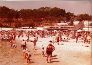 Photo: Mustameri oli lämmin The beach belongs to the people