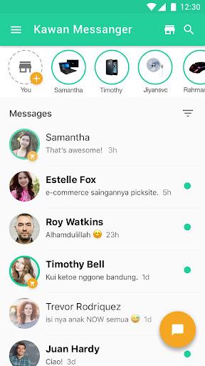Kawan Messenger 1.6.4 screenshots 2