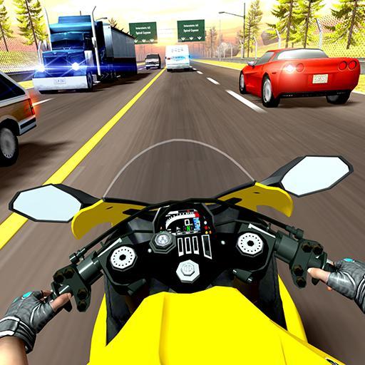 Highway Moto Rider 2 - Traffic Race