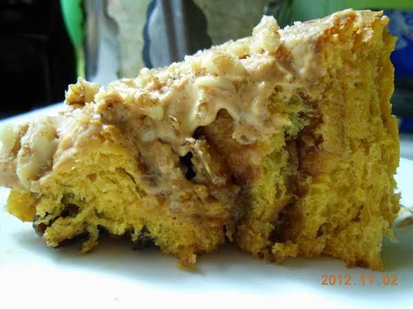 Pumpkin Cinnamon Rolls Extraordinaire Recipe
