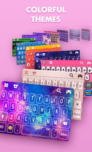 Smiley Emoji Keyboard 2018 - Cute Emoticons 1.2.0 Screenshots 6