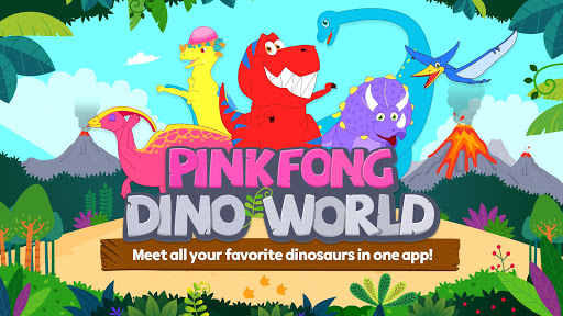 Pinkfong Dino World screenshots 1