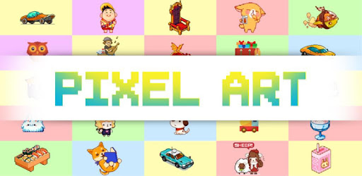 Try to free cartoon, sandbox & much more in color by number app with Pixel Art!