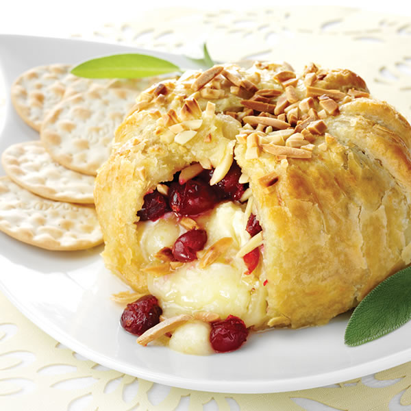 Cranberry And Pecan Brie En Croute Recipes — Dishmaps