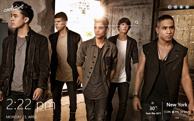 CNCO HD Wallpapers Latin Music New Tab Theme