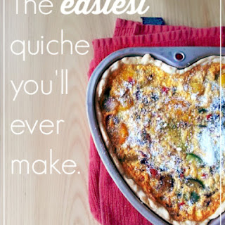 The Easiest Quiche You'll Ever make
