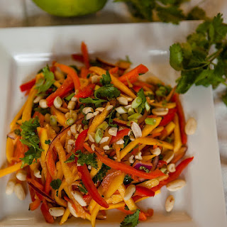 Spicy Mango and Jicama Salad
