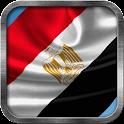Egyptian Flag Live Wallpaper icon