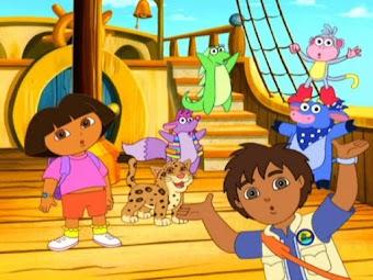Dora et les pirates - partie 1