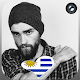 Uruguay Flag Heart Effect : Photo Editor (app)