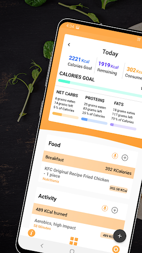Keto Manager: Low Carb Diet Tracker, Macro Counter 2.7 screenshots 1