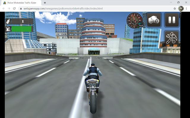 Police Motorbike Traffic Rider Game