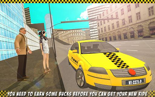 無料模拟Appのタクシー運転3Dの雪の都市|記事Game