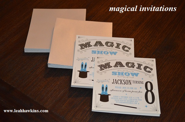 magical invitations from minted