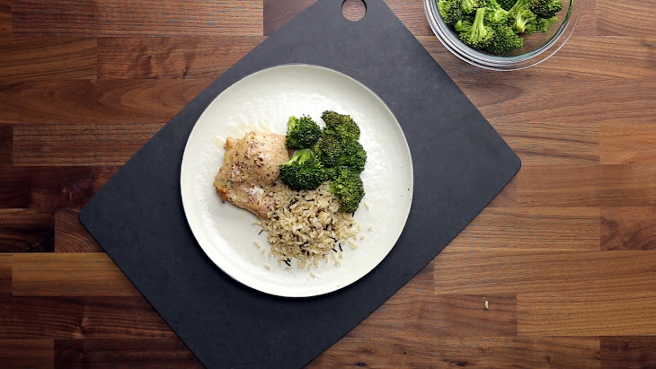 Basic Baked Chicken Thighs Recipe