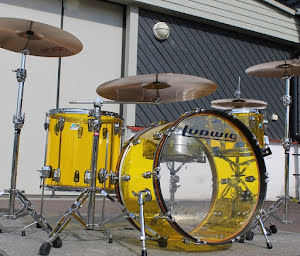 Ludwig Vistalite Pro Beat - Yellow