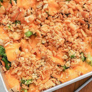 Chicken Broccoli Cheese Ritz Cracker Casserole Recipes