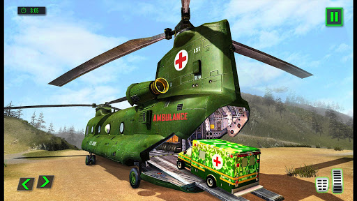 US Army Ambulance Driving Rescue Simulator 1.0.4 screenshots 2