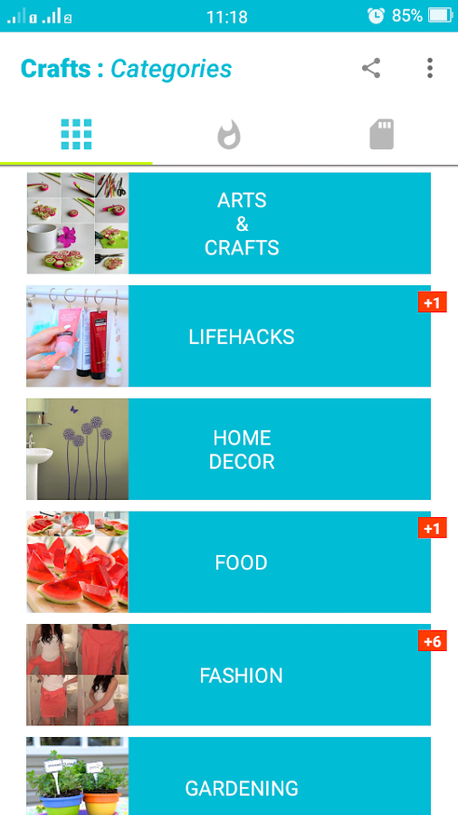 Crafts ideas android apps on google play for Create and craft app