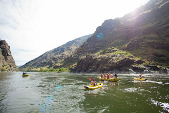 Photo: Rafting Hell's Canyon of the Snake River, ID / OR. Hell's Canyon is the deepest canyon in North America.