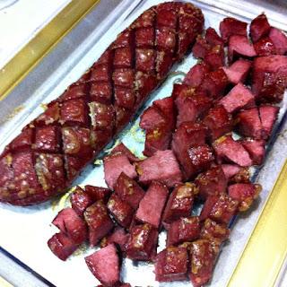 Baked Kosher Salami Recipe