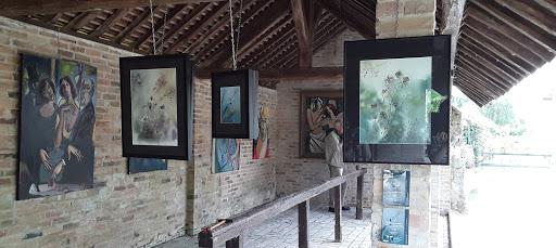 """Jeanne PAPA expo """"au fil des lavoirs"""" 2017"""