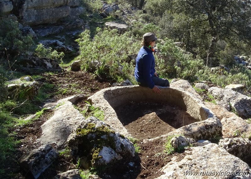 Los Lajares - Llanos de Zurraque - Cortijo del Mojon Alto - Cabeza de Caballo - Llanos del Republicano