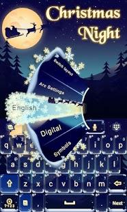 Christmas-Night-Keyboard-Theme 3