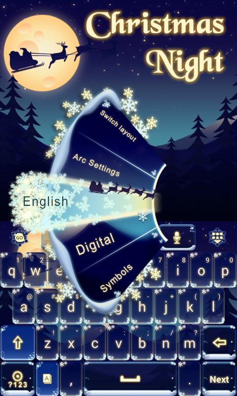 Christmas-Night-Keyboard-Theme 10