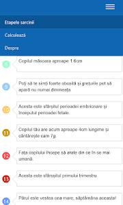 Etapele sarcinii screenshot 1