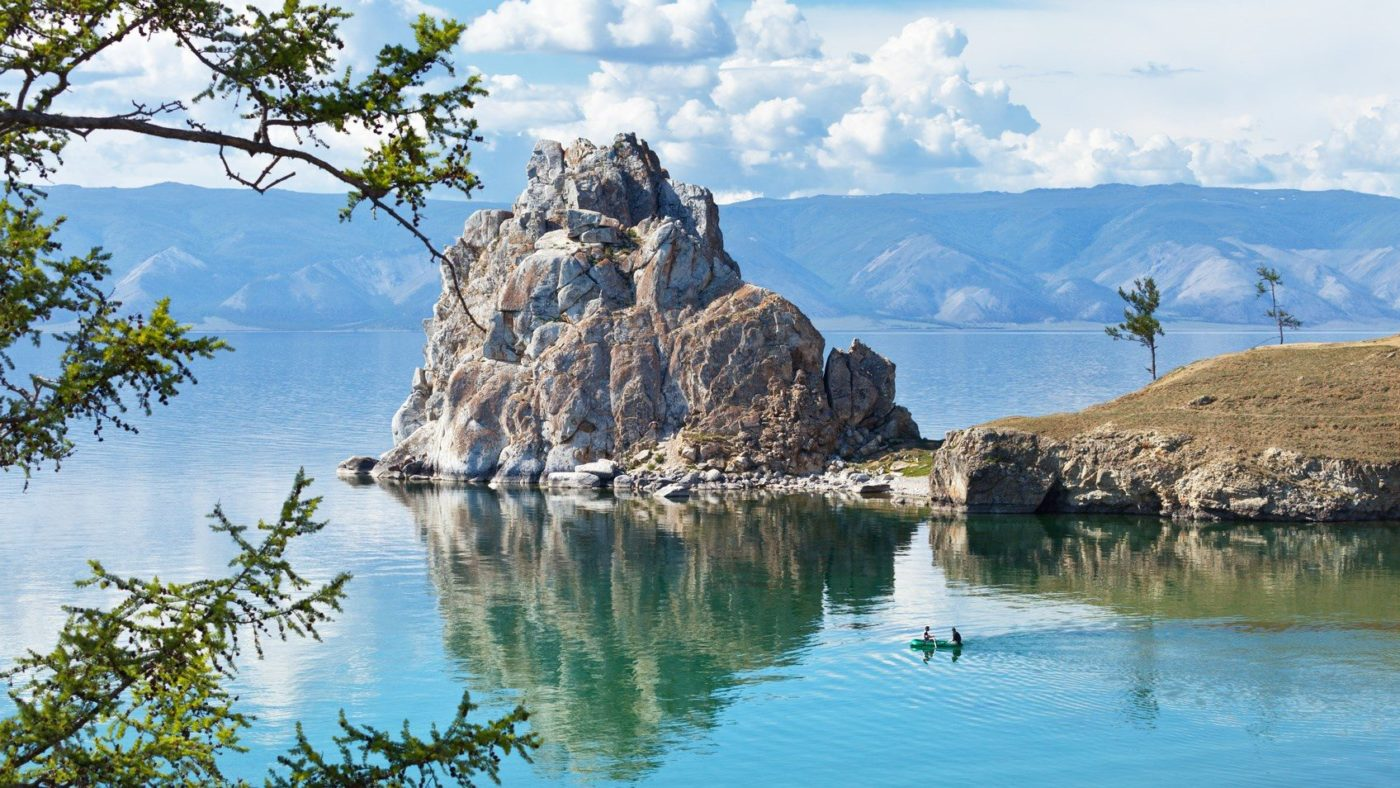 The Baikal lake in summer. Russia