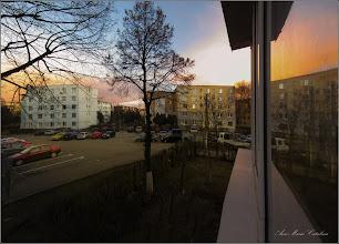 Photo: Turda - Calea Victoriei, Bloc B15 - Imagini de la geamul meu - 2019.03.11