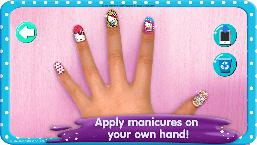 Hello Kitty Nail Salon screenshot 4