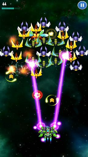 Galaxy Invader: Space Shooting apktreat screenshots 1