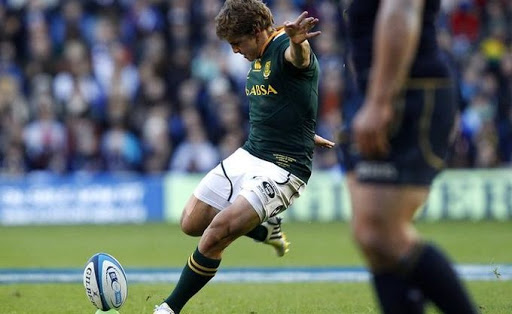 South Africa's Patrick Lambie. Picture: REUTERS, DAVID MOIR