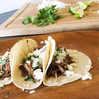 Slow Cooker Barbacoa Beef Tacos Recipe