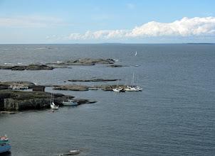 Photo: Majakkasaarelle voi tulla myös omalla veneellä