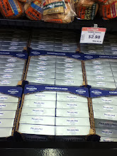 Photo: Here is a nice display of cream cheese.