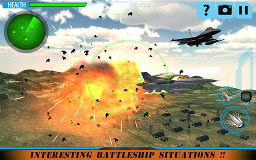 F18 Army Fighter Jet Attack game (apk) free download for Android/PC/Windows screenshot