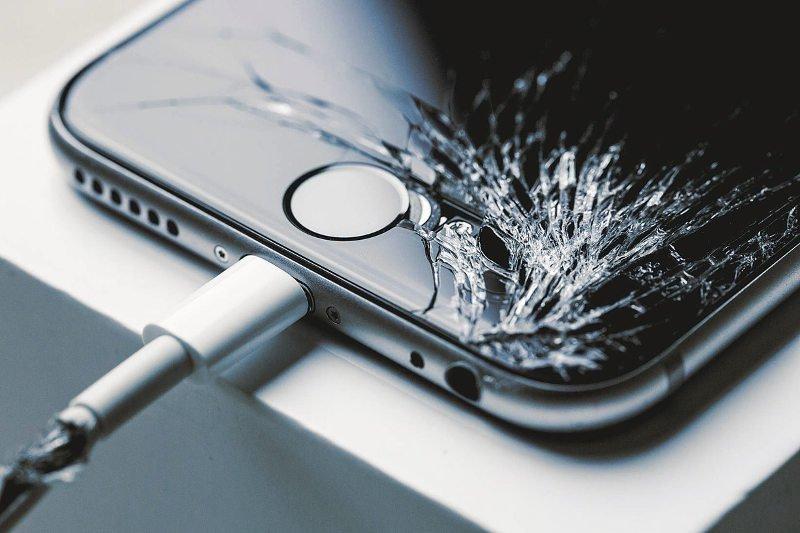Resultado de imagen de pantalla de iphone x rota