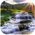 Waterfall Wallpaper Live 3D icon