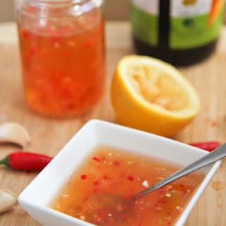 Nước Mấm Chấm – Vietnamese Fish Sauce Dipping Sauce.