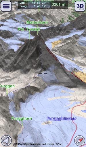GeoFlyer Europe 3D - Offline Maps GPS Routing 2.2.1 screenshots 1